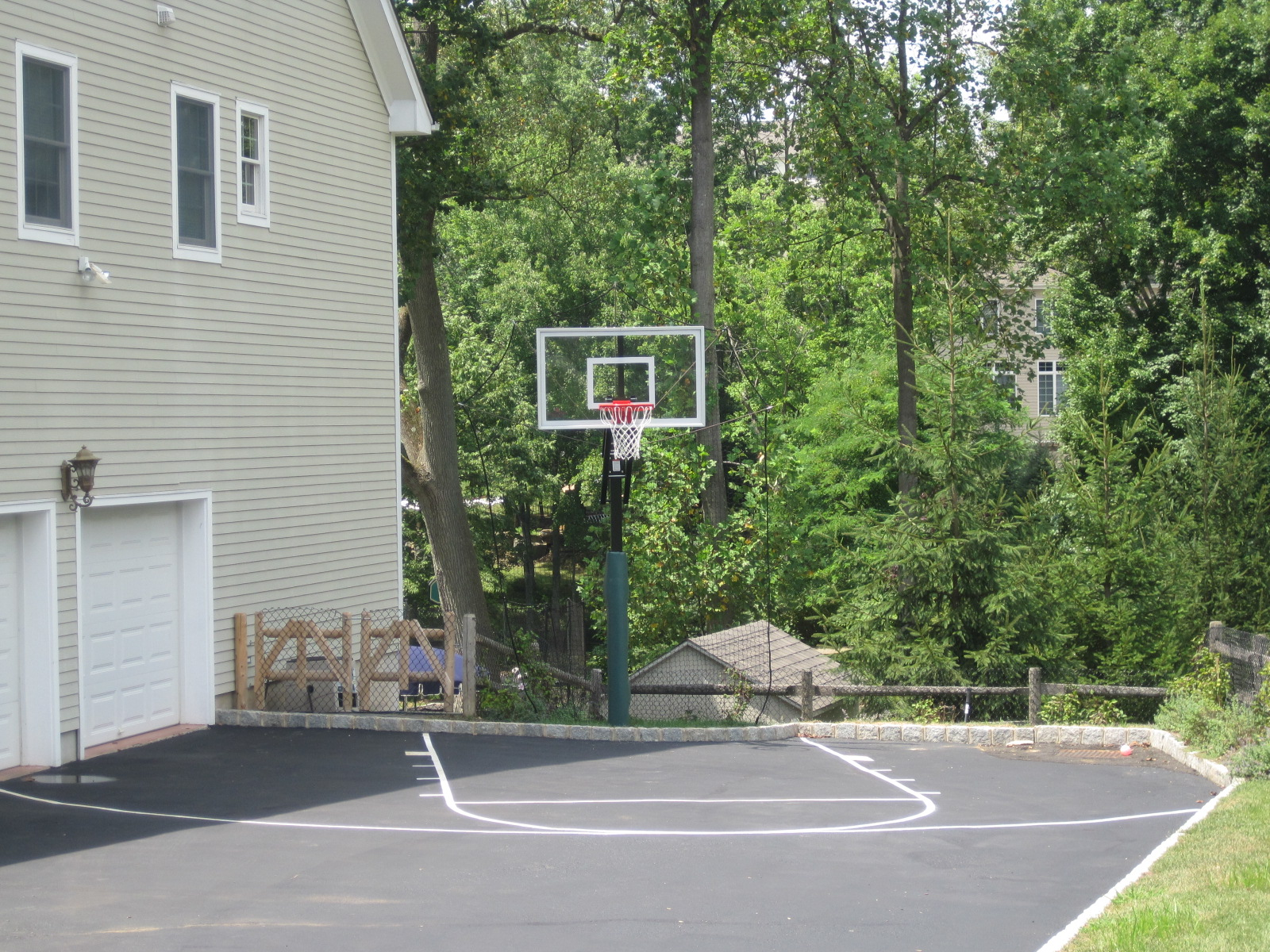 Home Court Hoops Basketball Court Lines