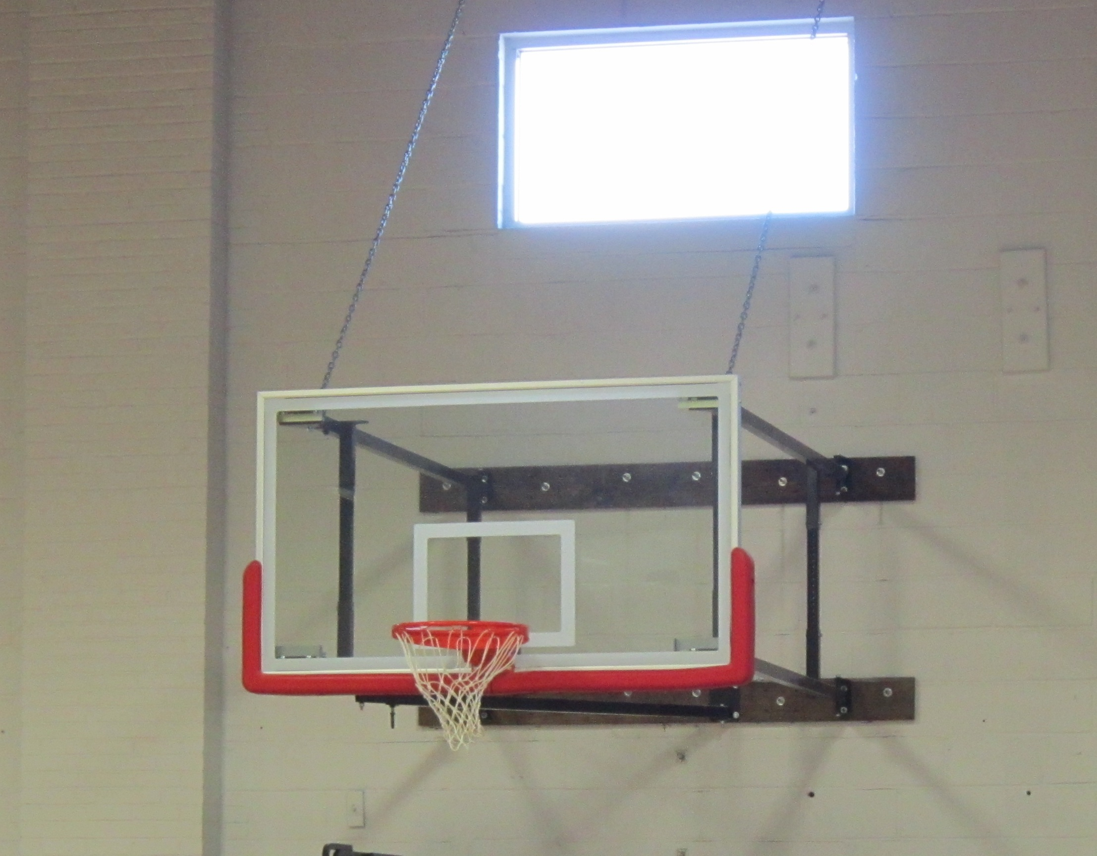 awesome indoor basketball hoop wall mount images interior design